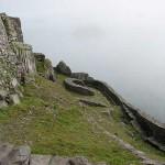 Vista de las escaleras que comunican las terrazasCrédito: Wikipedia Commons