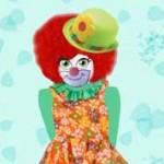 La bruja Carmela disfrazada de payasa Crédito:Pepa Glez.