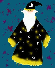 Pantapa con disfraz de mago Crédito: Pepa Glez. Ramírez