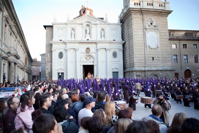 Semana Santa en Zaragoza. Foto:turismodearagon