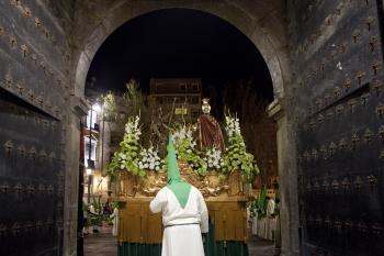 Semana Santa en Zaragoza.Foto:turismodearagon