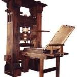 Imprenta de Gutenberg Crédito: Wikipedia