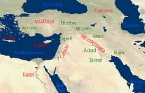 POA (Póximo Oriente Antiguo) Crédito: Wikipedia Commons