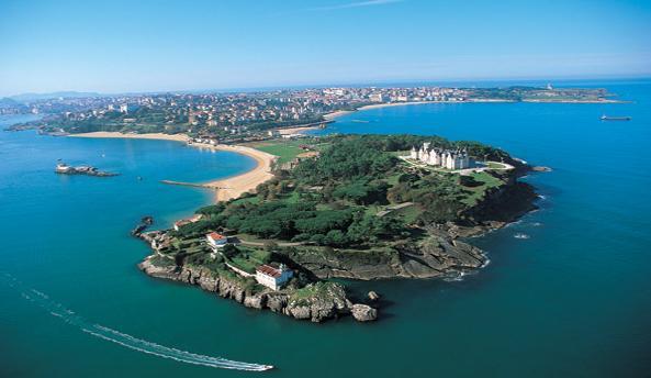 Bahía de Santander. Crédito Wikipedia