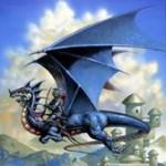Dragón volando Crédito: Wikipedia