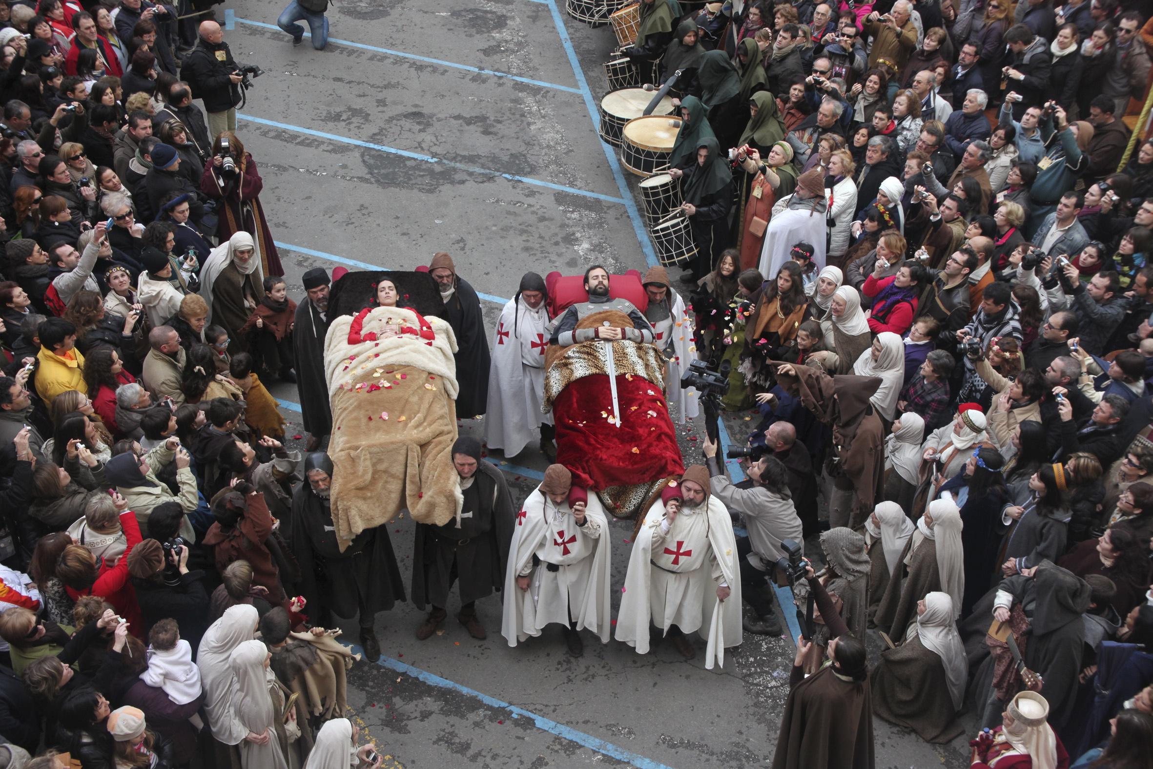 Los amantes de Teruel.Credito Heraldo de Aragón