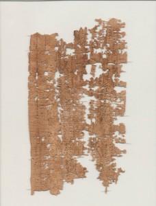 Carta del soldado egipcio
