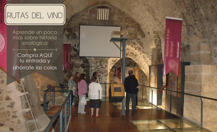 Museo del vino en el Monasterio de Piedra de Zaragoza. Foto: monasteriodepiedra.com