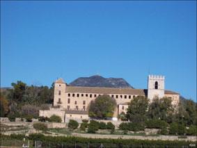 Monasterio de San Jerónimo de Cotalba en Alfahuir