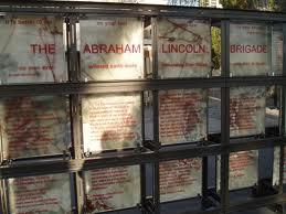 Memorial a la Brigada Internacional Abraham Lincoln en San Francisco.