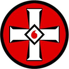 Emblema del Ku Klux Klan. Wikipedia.