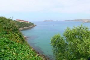 Precioso paisaje en Suances