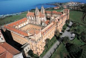 Vista aérea de la Universidad Pontificia de Comillas