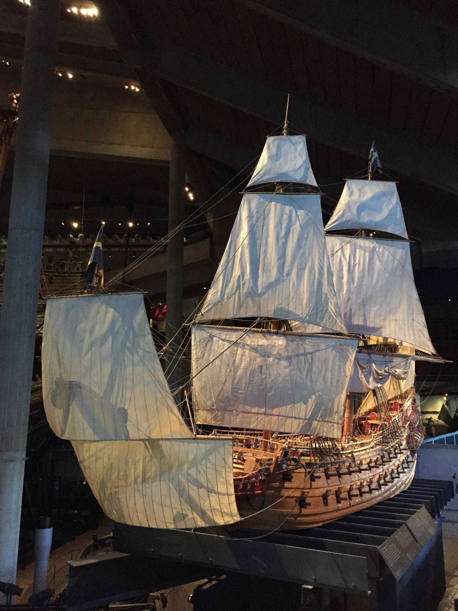 Reproducción del Vasa
