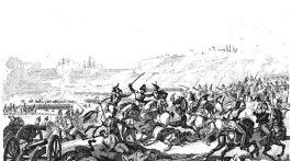 La caída de Valencia durante la guerra de la independencia, batalla de Sagunto