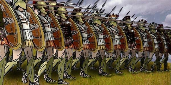 Reforma hoplítica durante la stasis de la Grecia arcaica