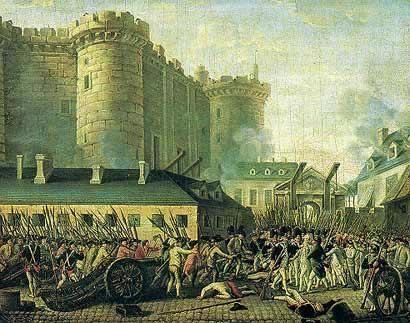 Toma de la Bastilla final del Antiguo Régimen