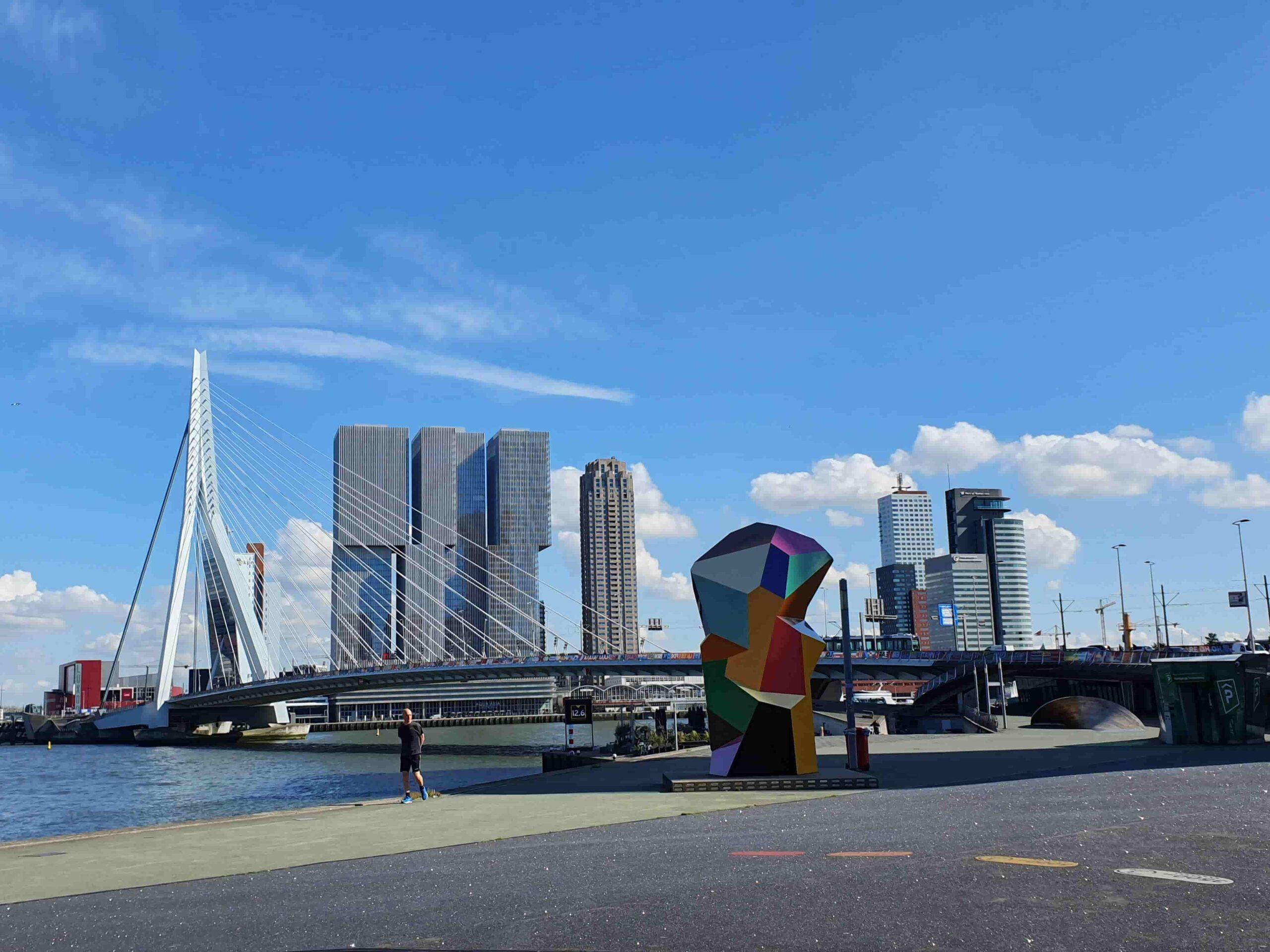 Puente Erasmus en Róterdam