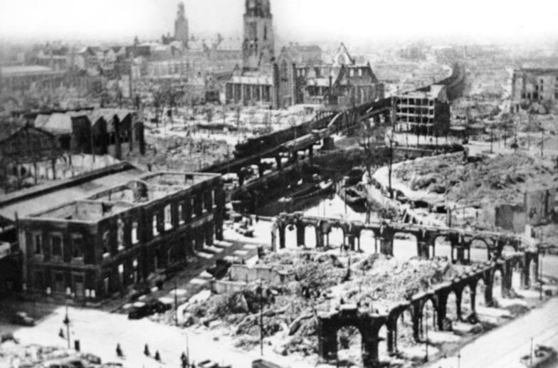 Bombardeo de Róterdam 1940