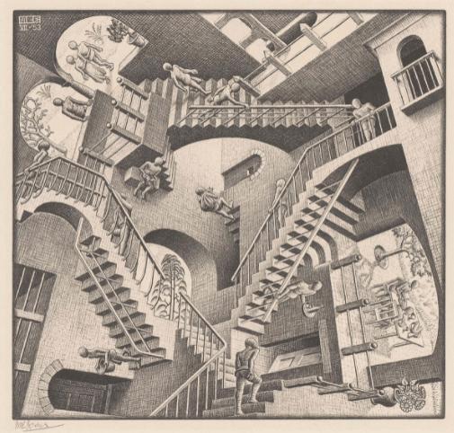 Relatividad de Escher