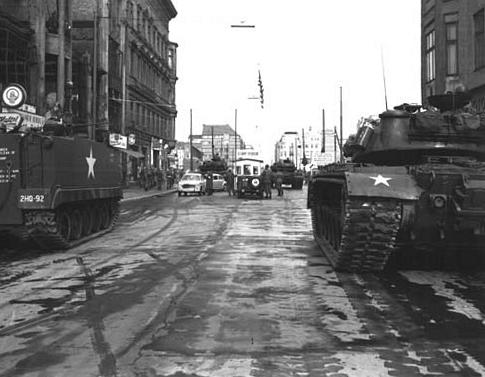 Tanques americanos en 1961