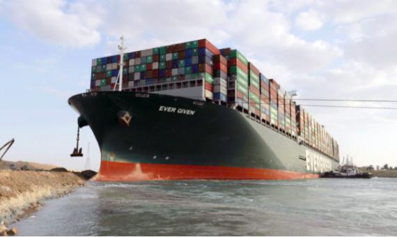 Bloqueo Canal de Suez