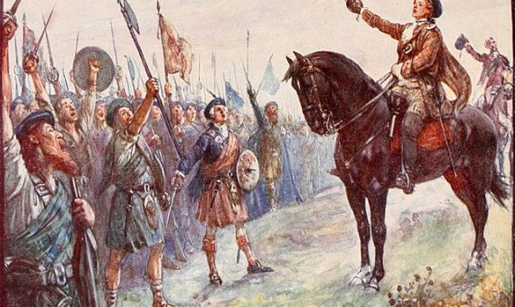 La batalla de Culloden (la leyenda del oro jacobita)