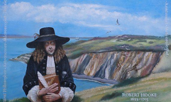 Retrato Robert Hooke