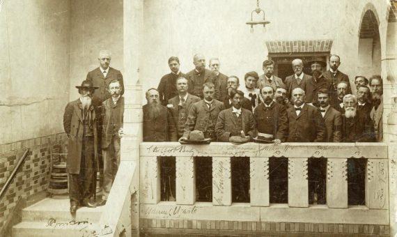 Rosa Luxemburgo en el Castillo de los ladrones