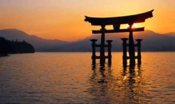 Tori sintoísmo japonés